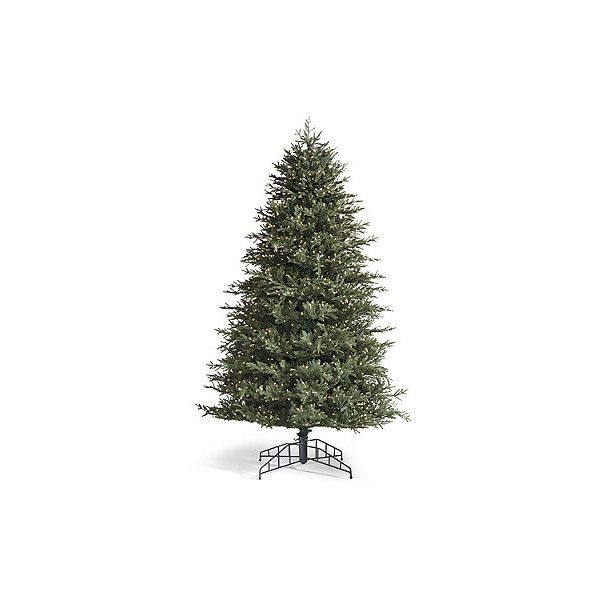 Fraser Fir Artificial Pre-Lit Christmas Tree - Clear, 7-1/2 ...