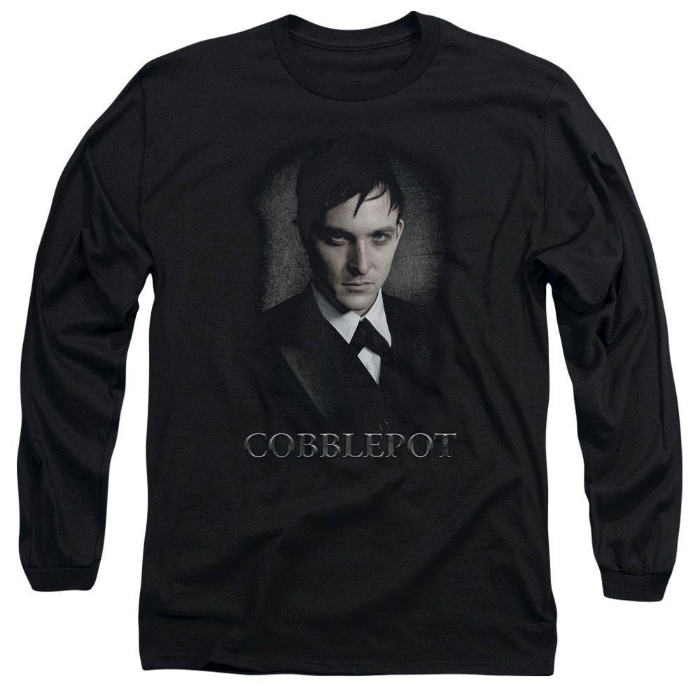 Gotham/Cobblepot Long Sleeve Adult T-Shirt 18/1
