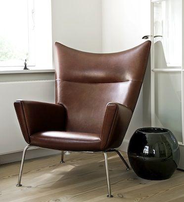 Wing Chair By Hans J. Wegner