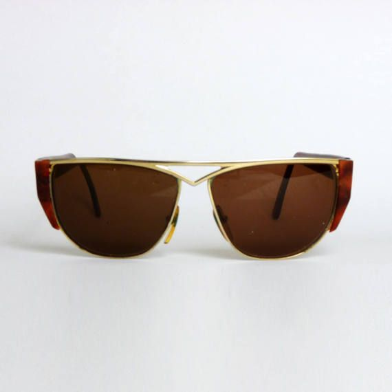 Le donne lenti sfumate oversize di marca Retro Donna Occhiali Da Sole Occhiali UV400 UK