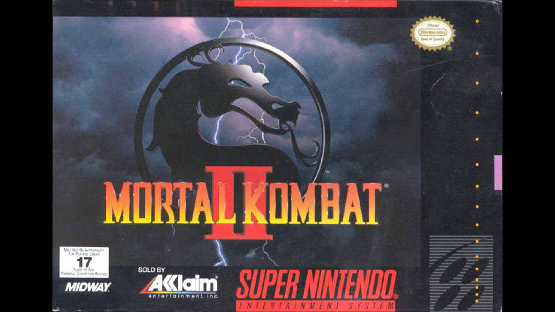 Mortal Kombat 2 (SNES) Music - Select Your Fighter (Extended