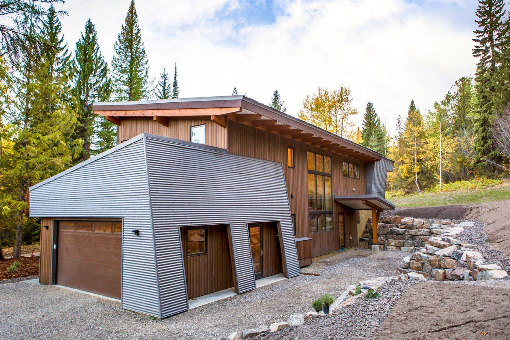 Modern Metal Roofing Siding Interior Decorative Options Metal Building Designs Metal Buildings Building Design