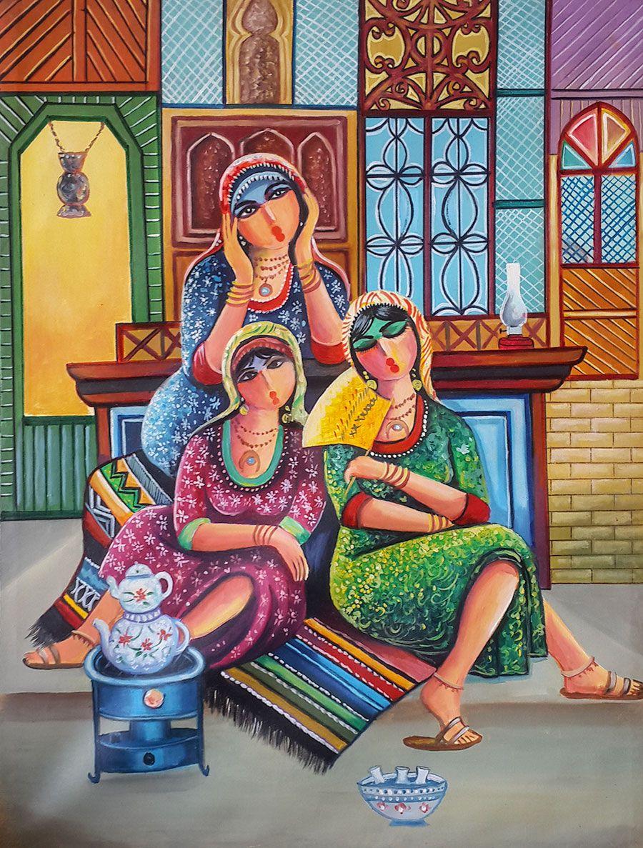 Original Iraqi Painting رسم تشكيلي عراقي Baghdad Art Gallery Original Paintings Art Art Painting Painting