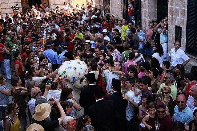 Festes de s. Joan, ciutadella #menorca #menorcacultural