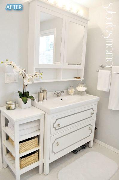 Bathroom Vanity Hacks the welch abode: ikea hack | c | stuart street | pinterest | ikea
