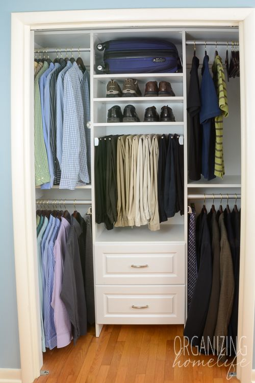 Beautiful Storage for Bedroom without Closet