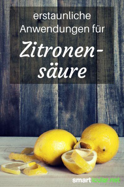 15 Erstaunliche Anwendungen Fur Zitronensaure Haushalts Tipps