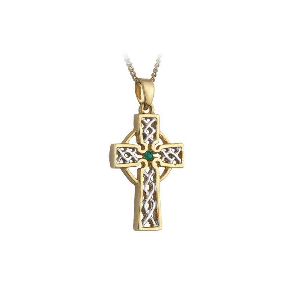 The irish pendant also holds a special meaning as the celtic cross the irish pendant also holds a special meaning as the celtic cross represents christianity and the circle around the cross represents christ as the center aloadofball Gallery