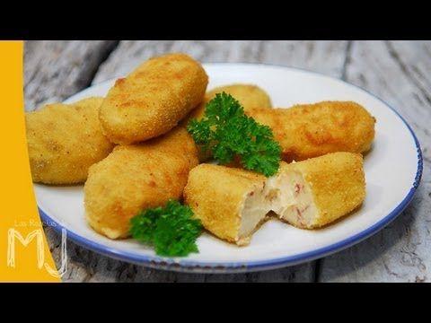 Las Recetas De Mj Croquetas De Jamón Ibérico Del Chef Chicote Recetas Para Cocinar Recetas De Croquetas Croquetas