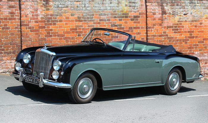 1954 Bentley R-Type Continental Drophead Coupe