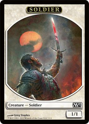 TIMELY REINFORCEMENTS M12 Magic 2012 MTG White Sorcery Soldier Unc
