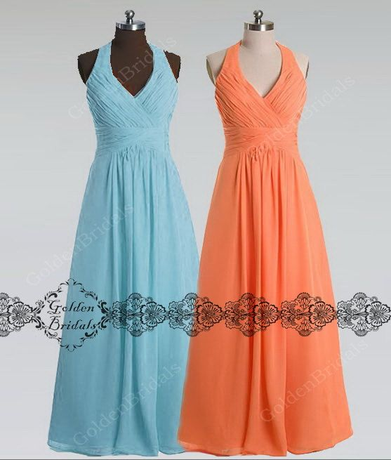 Hey, I found this really awesome Etsy listing at https://www.etsy.com/listing/182147699/light-blue-bridesmaid-dress-cheap