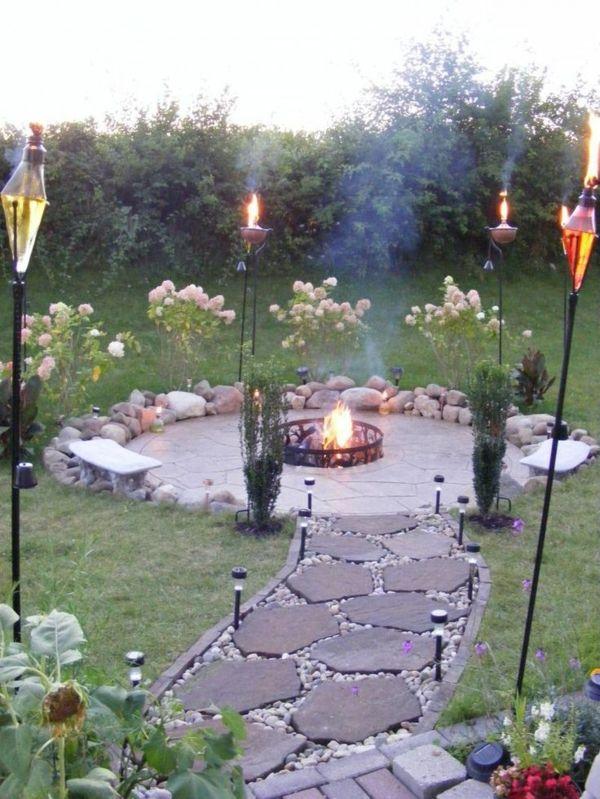 Garten Steine - eine Gartengestaltung, so nah an der Natur - garten mit steinen dekorieren