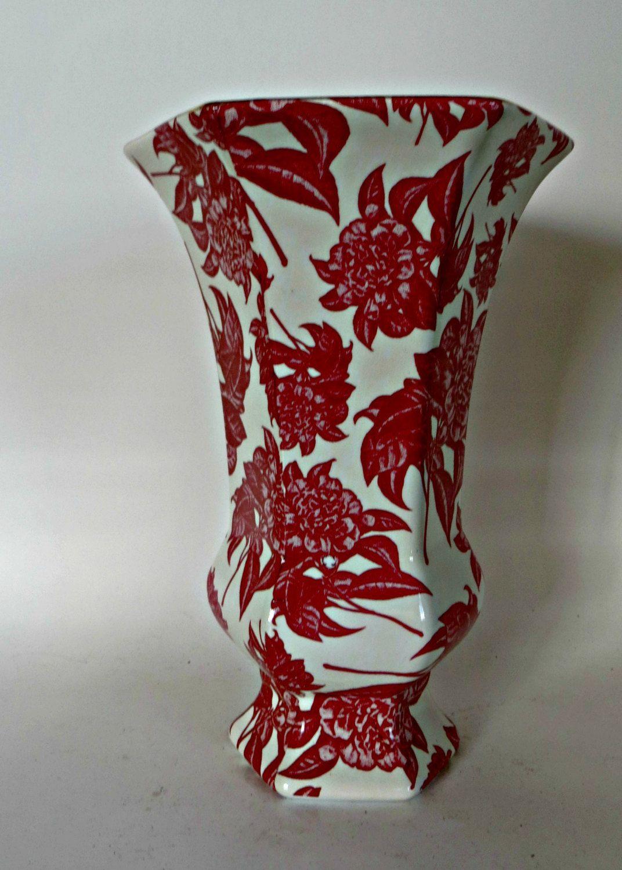 Red camellia chintz porcelain vase baum brothers formalities by red camellia chintz porcelain vase baum brothers formalities by fabulousfunfashion on etsy reviewsmspy