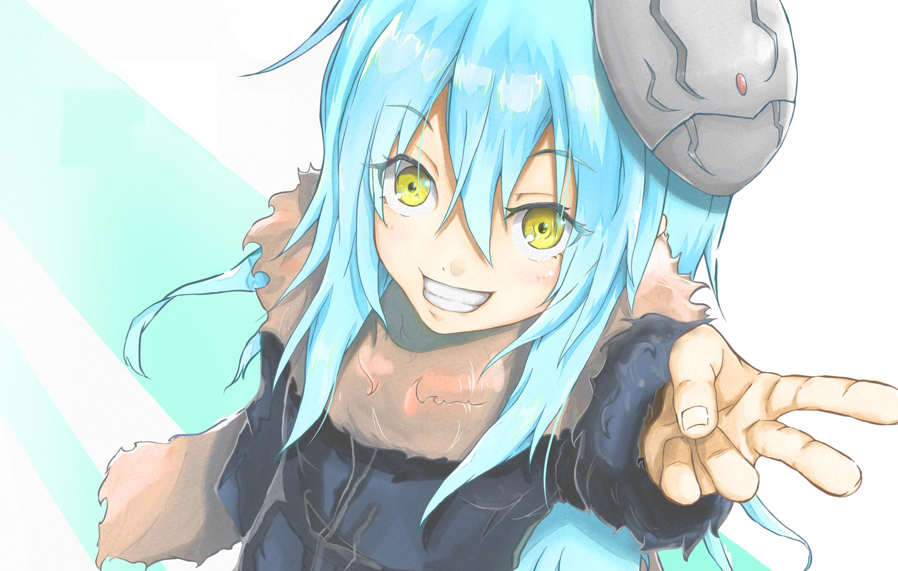 He is one of the demon lords of the octagram. Rimuru Tempest | Arte anime, Anime, Desenhista