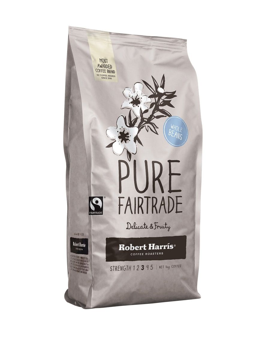 Coffee Robert Harris Look For The Fairtrade Certified Coffee Available In All Major Foodstores Nationwide More Info Www Coffee Branding Pure Products Coffee