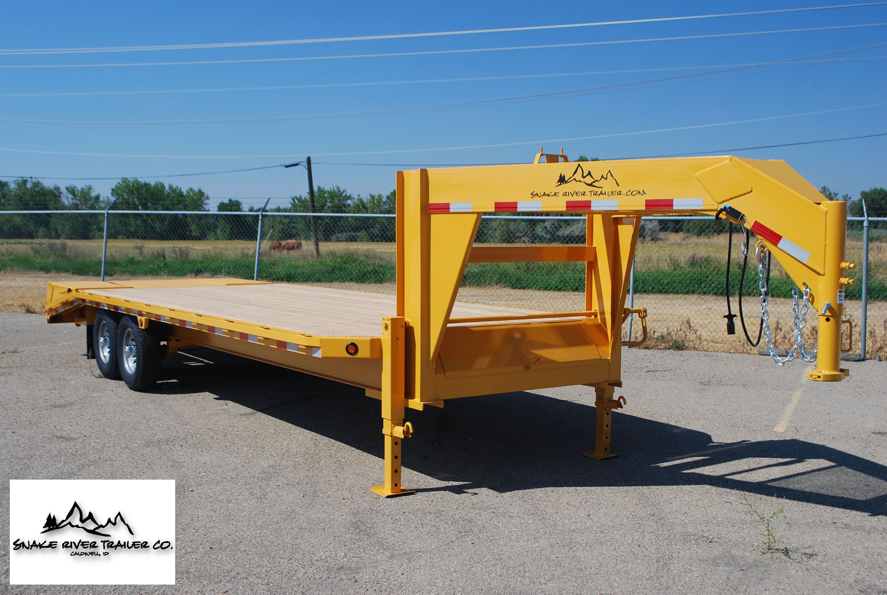 Snake River Trailer builds many styles of goose neck flatbeds ...