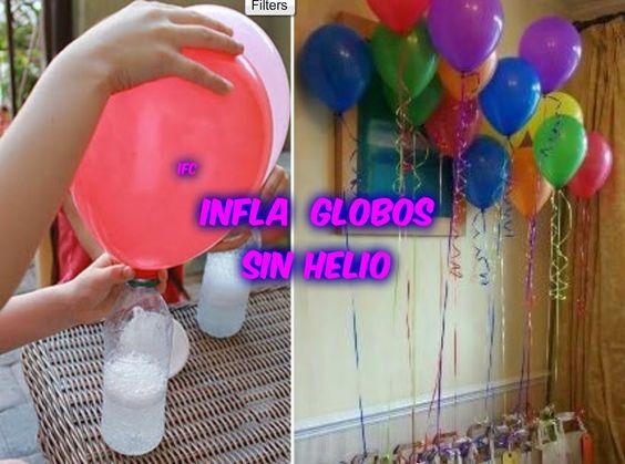Tips y reflexiones para la vida como inflar globos sin - Llenar globos con helio ...
