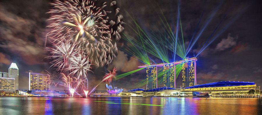 I really want laser show, and fireworks, lol (Laser show ...
