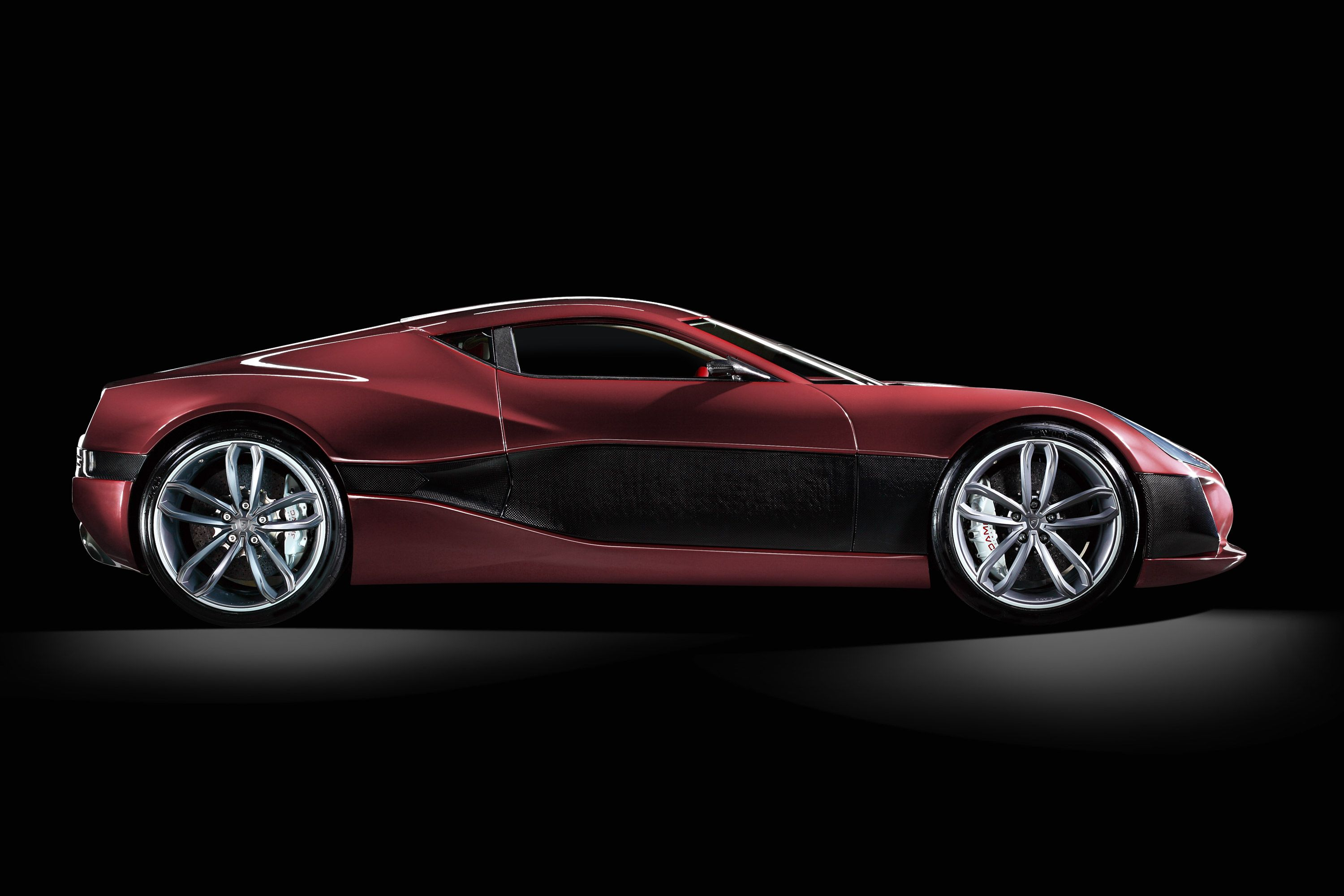 The Concept One Is The World S First Electric Supercar With A New Propulsion Concept Straight Out Of Croatia Near Zagreb Wit Super Cars First World Concept