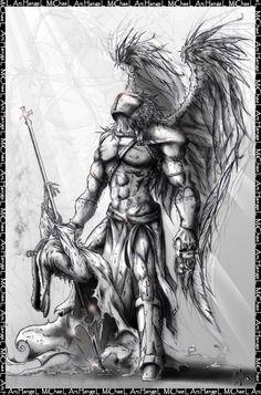 warrior archangel michael tattoo - Google Search                              …