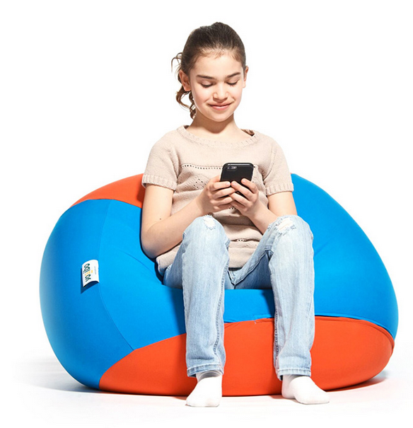 Kids Can Be Fussy With Everything Food Nap Time What S On The Tv As It Turns Out They Can Certainly Bean Bag Furniture Giant Bean Bag Chair Bean Bag Chair