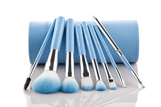 Photo of Blau make up pinsel set #makeupbrushes make up pinsel | Make-up Pinsel Anleitung…