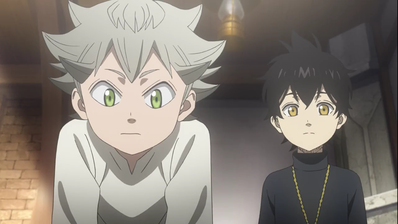Black Clover Asta Yuno As Kids Black Clover Anime Black Clover Manga Anime
