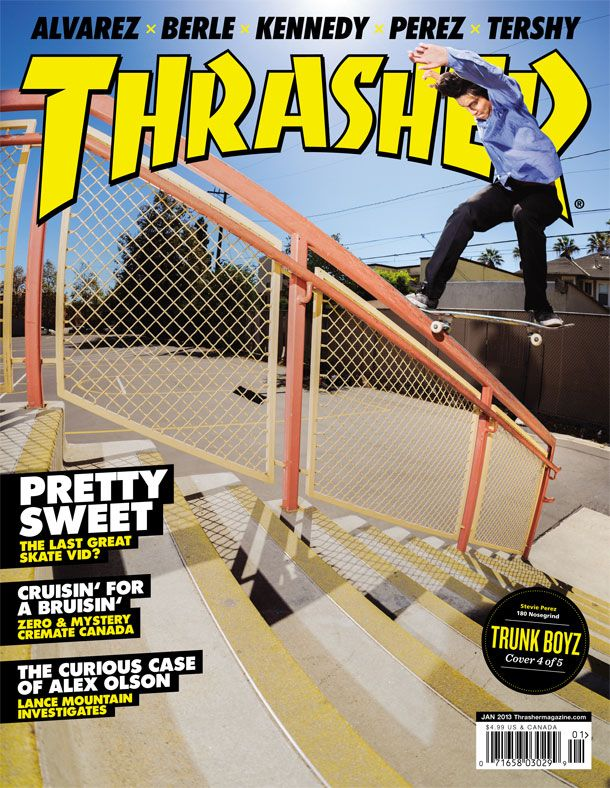 Thrasher Magazine Cover A Skateboard Magazine That Advertises Products And Events Thrashermagazine Conlen B 2 Thrasher Magazine Thrasher Magazine Cover