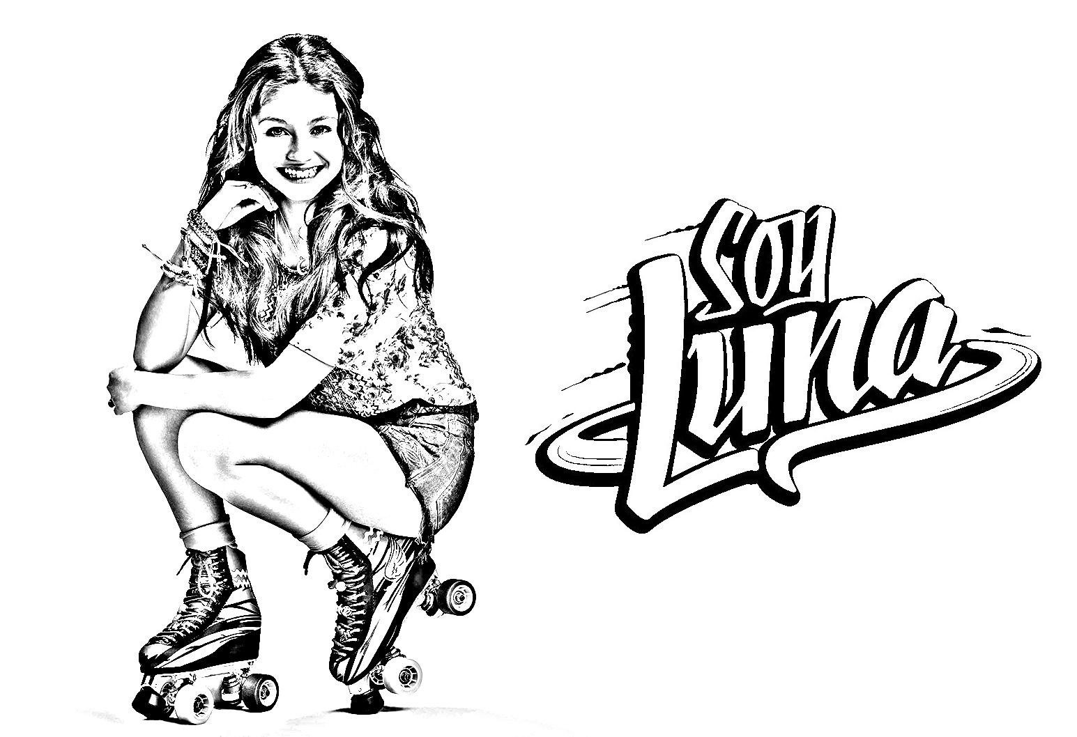 Soy Luna 3 Para Colorear: Coloriage Soy Luna - Coloriages Pour Enfants
