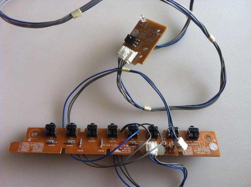 LG EBR36026101 Keyboard Controller & LG EBR36139501 IR