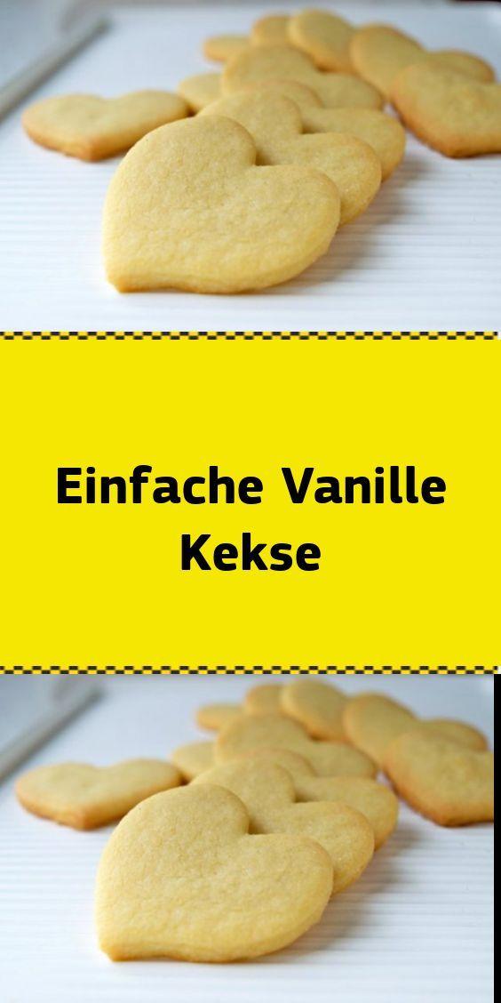 Einfache Vanille Kekse  NUR FÜR DICH