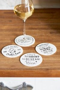 Fresh Drinks Coasters 4pcs. (297950)