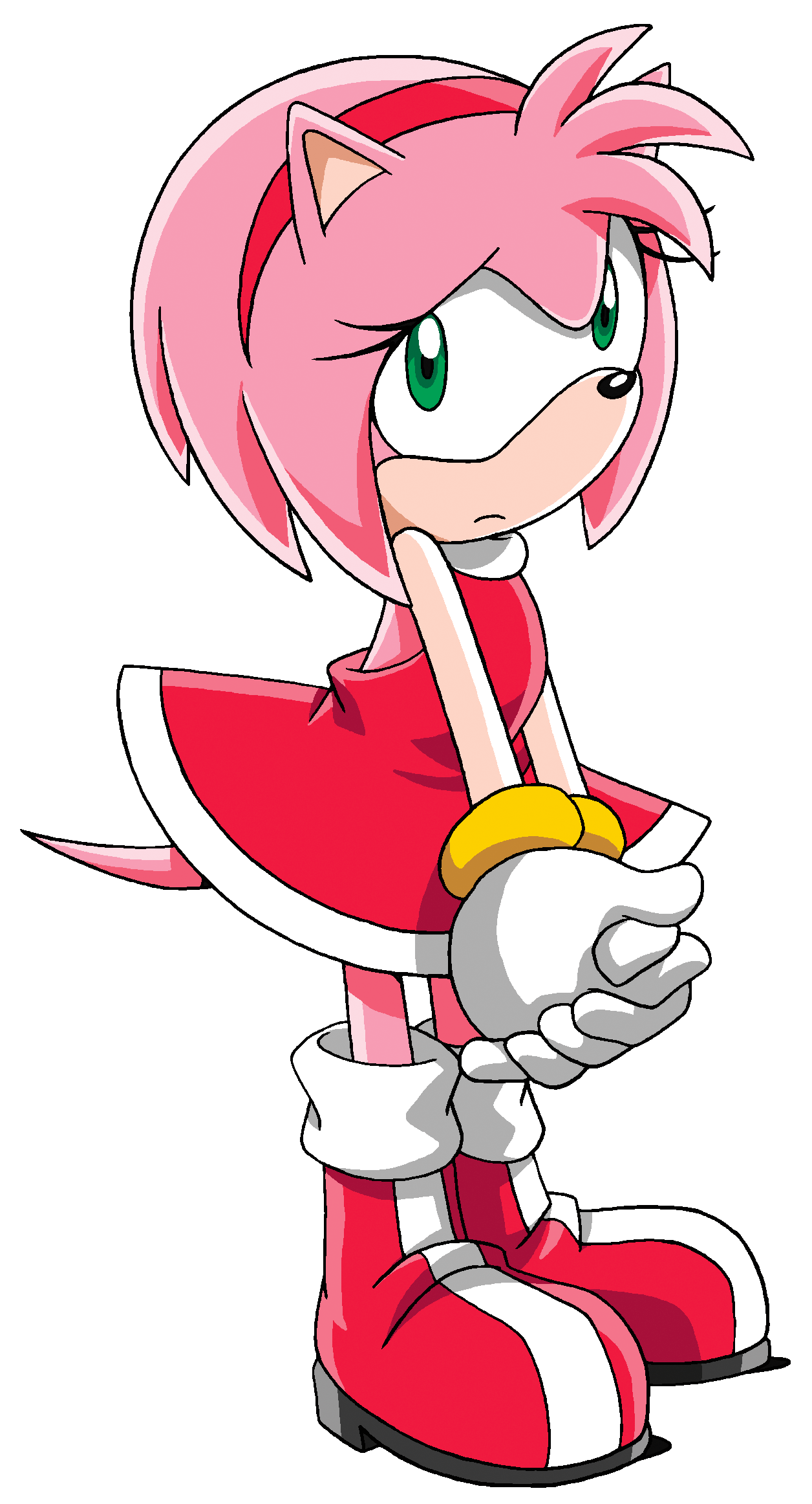 Amy Sonic X Amy Rose Sonic And Amy Sonic