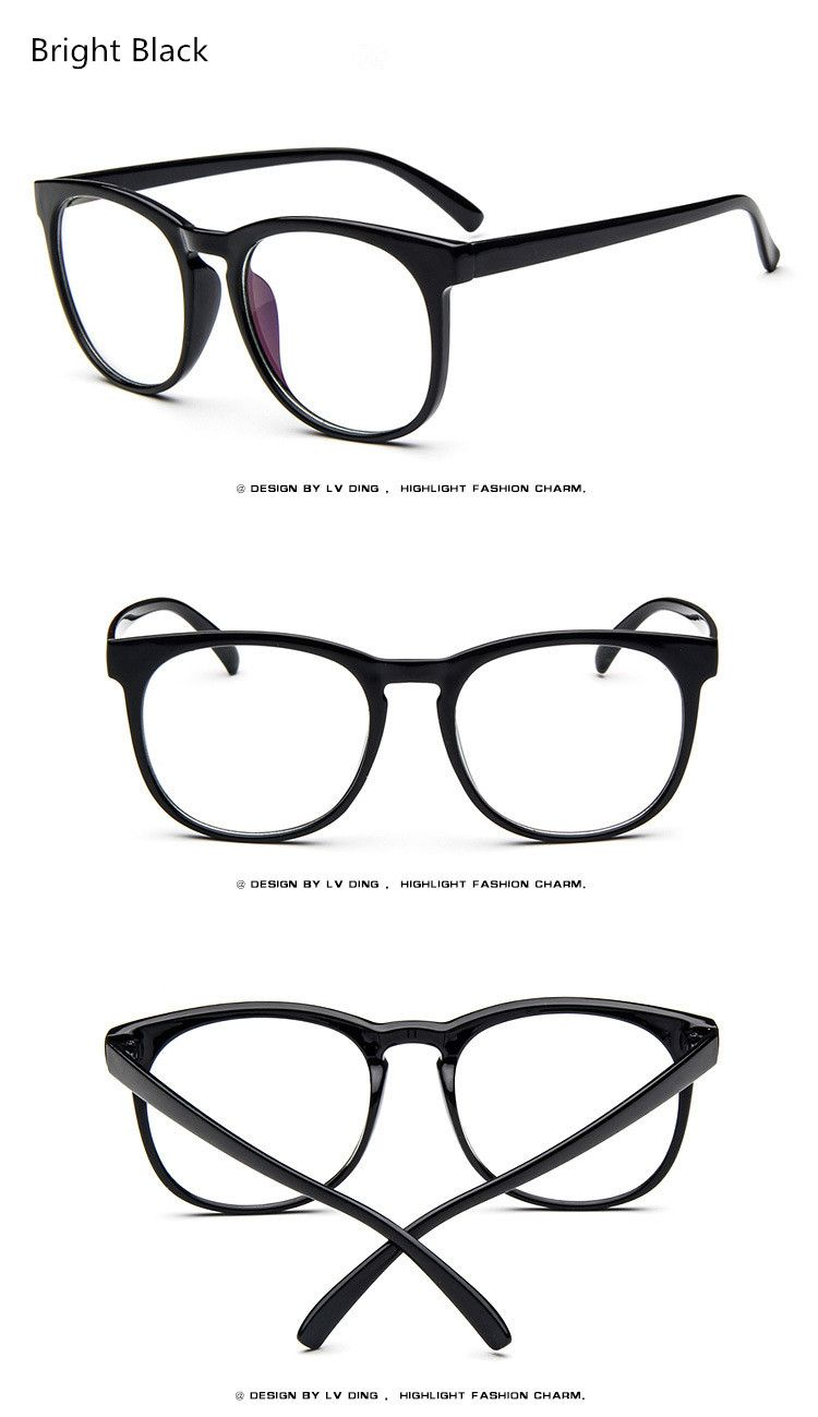 5431018a14 2017 Women s Optical Glasses Frame for Eyewear Eyeglasses Vintage Men Women  Myopia Eye Glasses Frame Computer Clear Lens WOW Get it here
