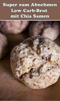 Pane a basso contenuto di carboidrati con semi di chia – perdere peso con piacere | WUNDERWEIB