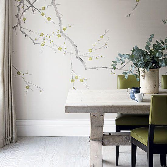 Kitchen Wallpaper Ideas Dining Room