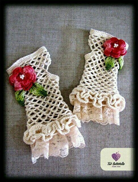 Pin de maria kotrokoi en πλεκτά γαντια | Pinterest | Ganchillo bebe ...