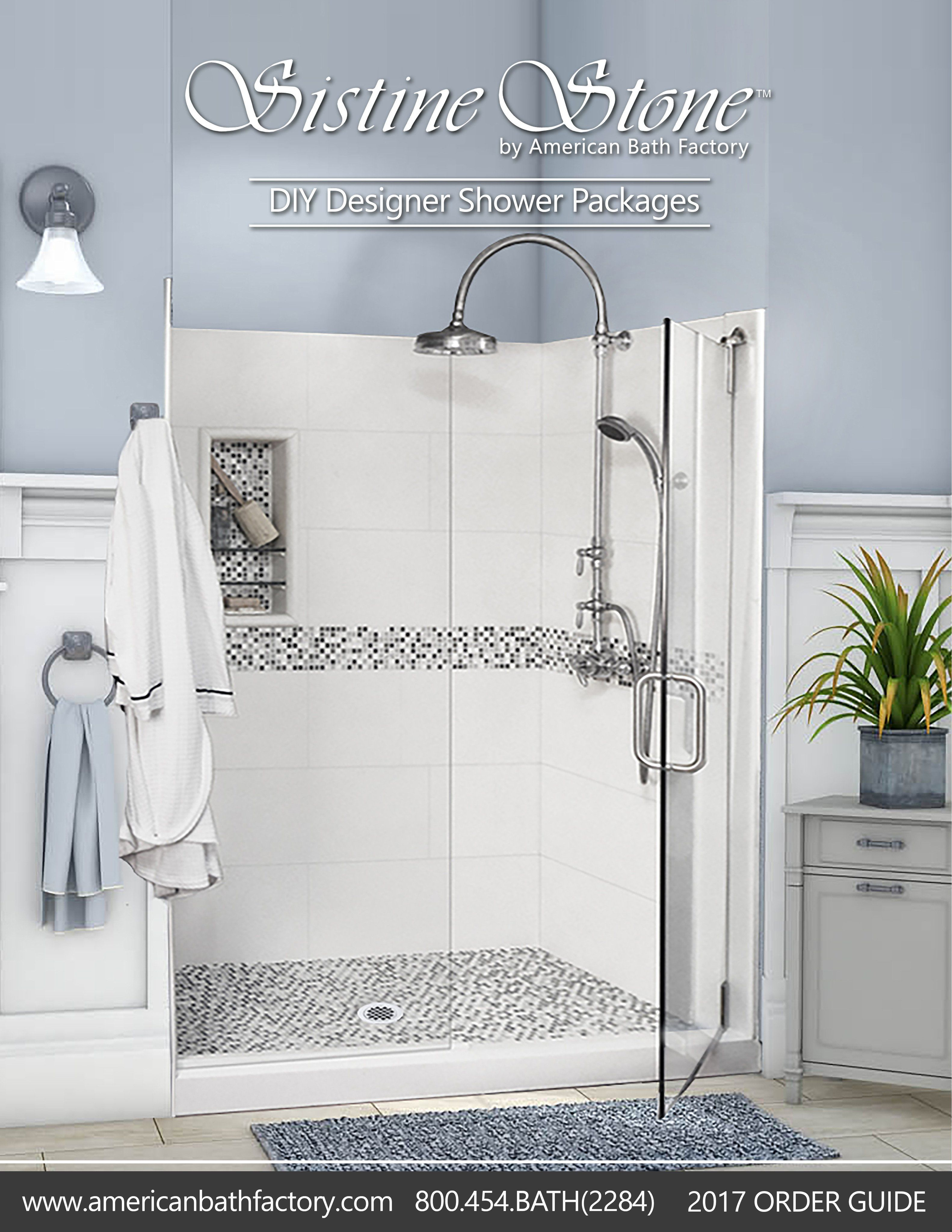 Shower Order Guide Shower Kits Shower Tile Mosaic Shower Tile