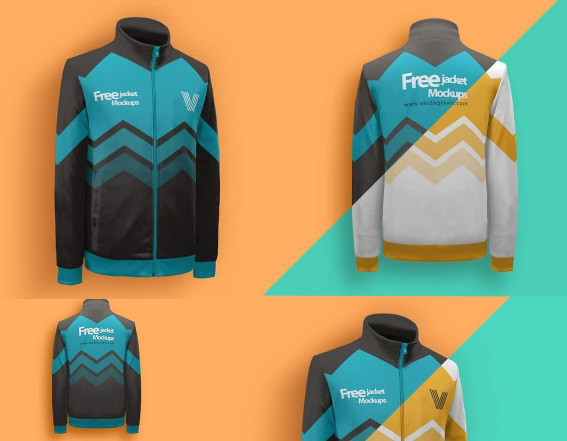 Full Sleeve Jacket Mockup Ultimate Mock Up Mockup Templates