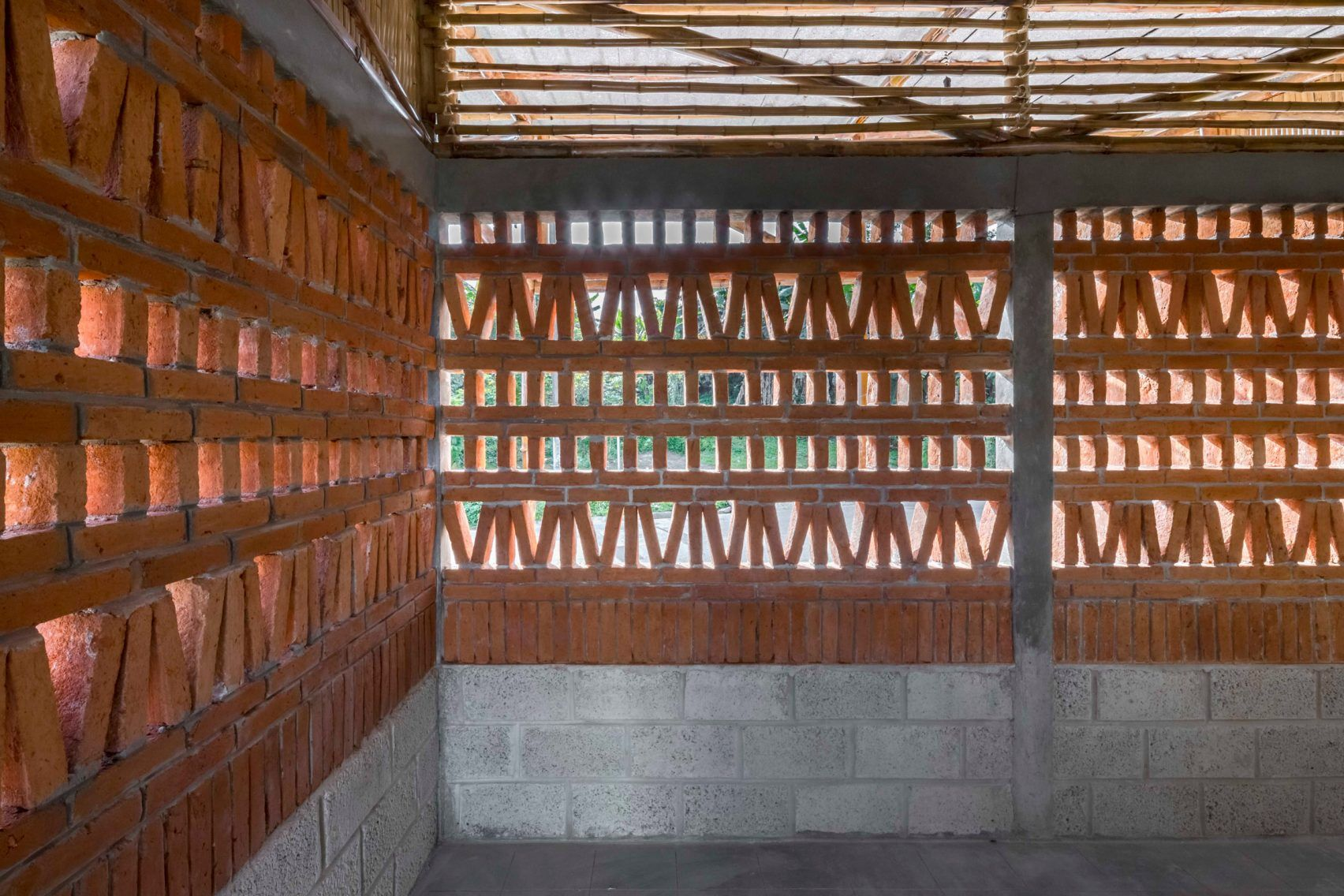 Photo of Bamboo social housing in rural Mexico can be built by residents i