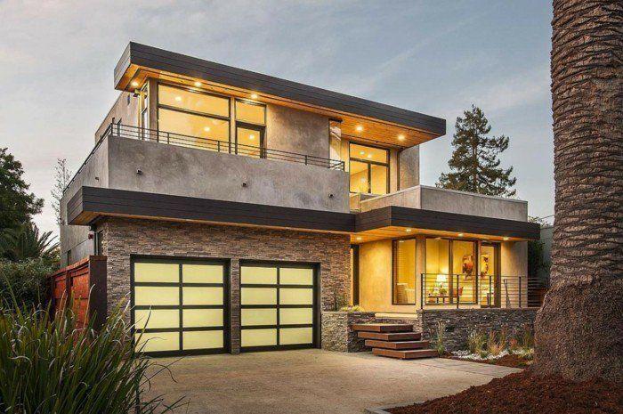 Marvelous Moderne Fassaden Originelle Hausfassade Gestalten Awesome Ideas