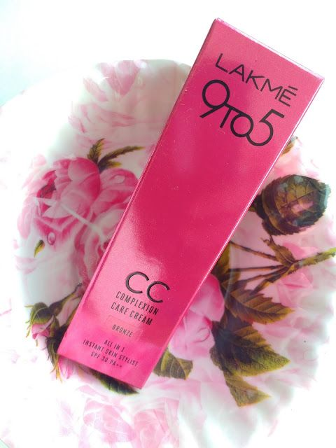 Lakme 9 to 5 Complexion Care CC Cream Review Swatches   Cc