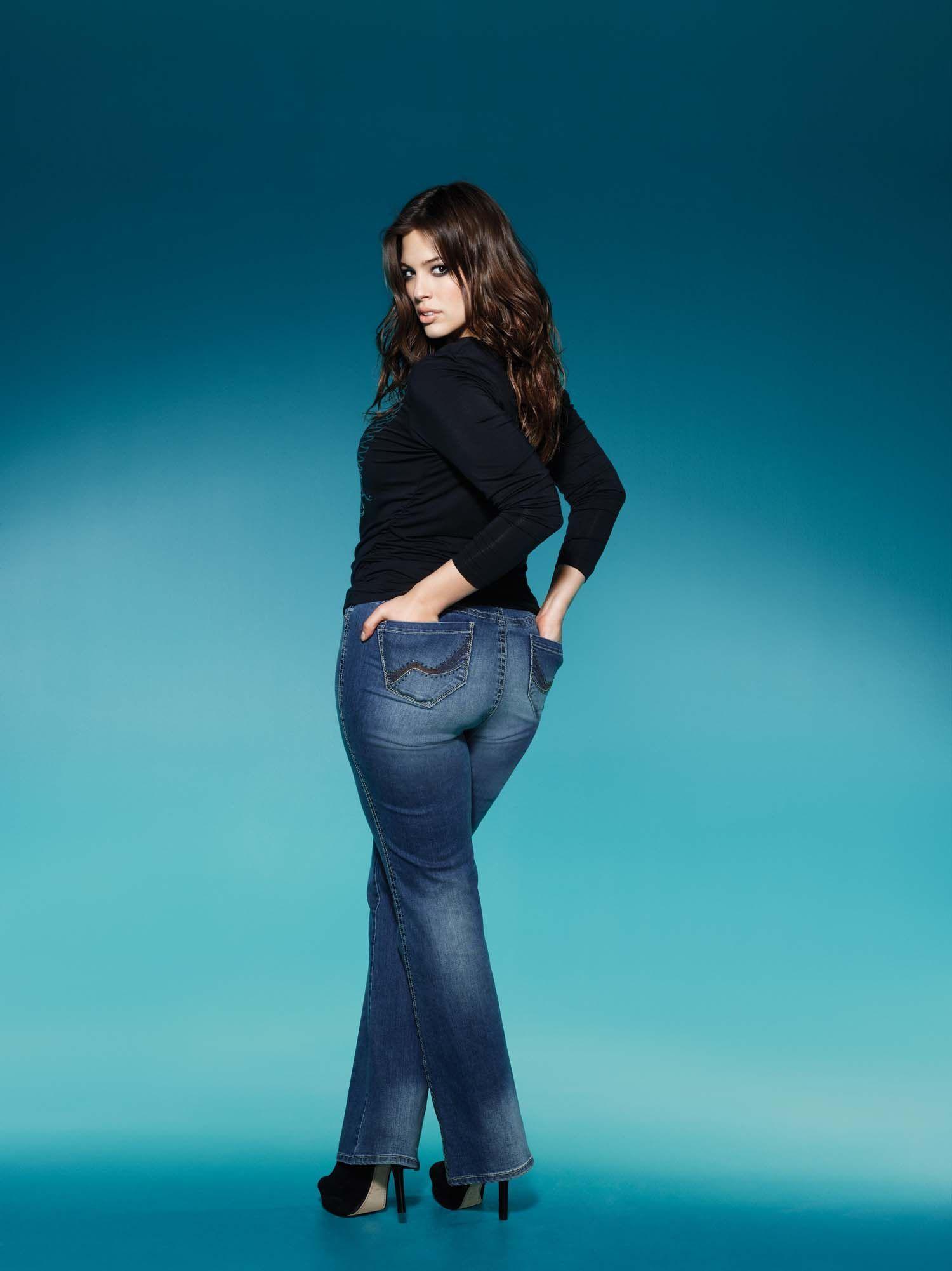 Ashley Graham Jeans | American Model Star Plus Size ...