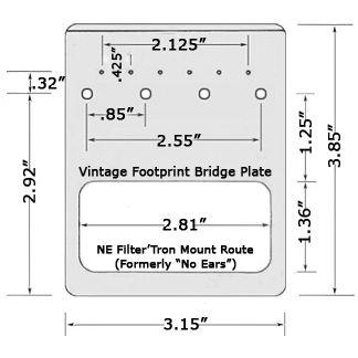 TV Jones 4-hole vintage-dim | Project 24 | Pinterest | Bridges ...