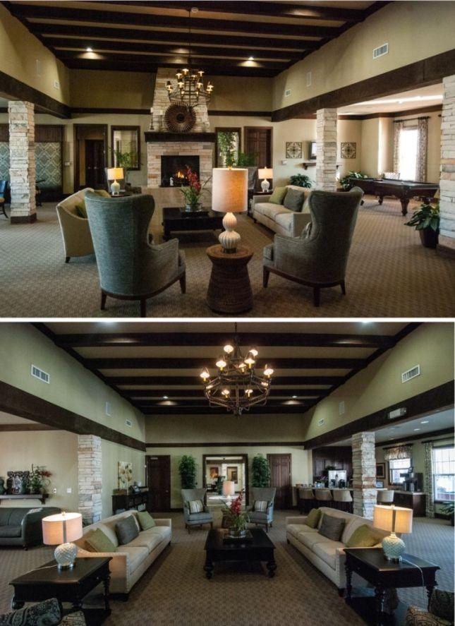 Falcon Creek Club House Interior Design Hampton Va