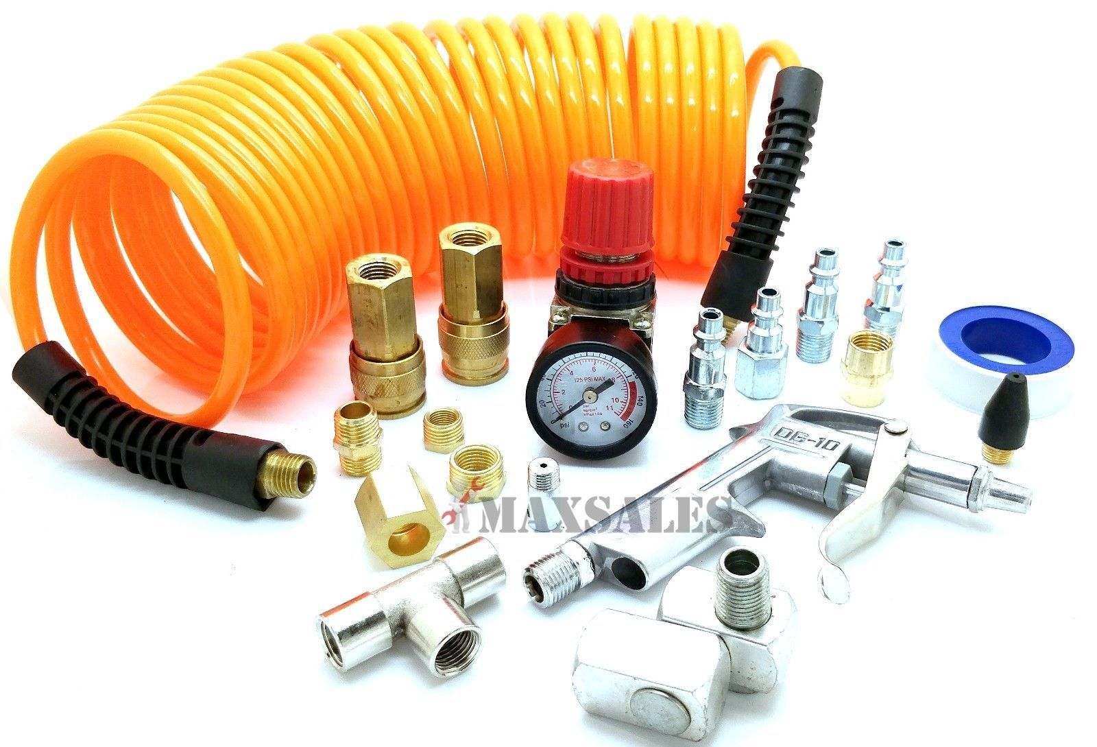 Parts and Accessories 42247 Air Compressor Tire Hose Kit