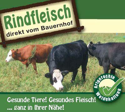 Rindfleisch vom Bauernhof
