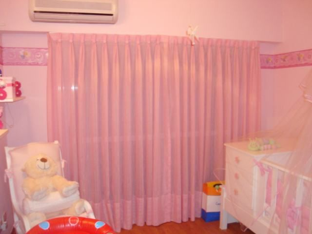 cortinas de gasa para dormitorio de beb tela voile