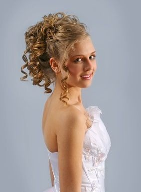 wedding hairstyles for medium length hair | curly hairstyle with medium length hair | Updos for ...